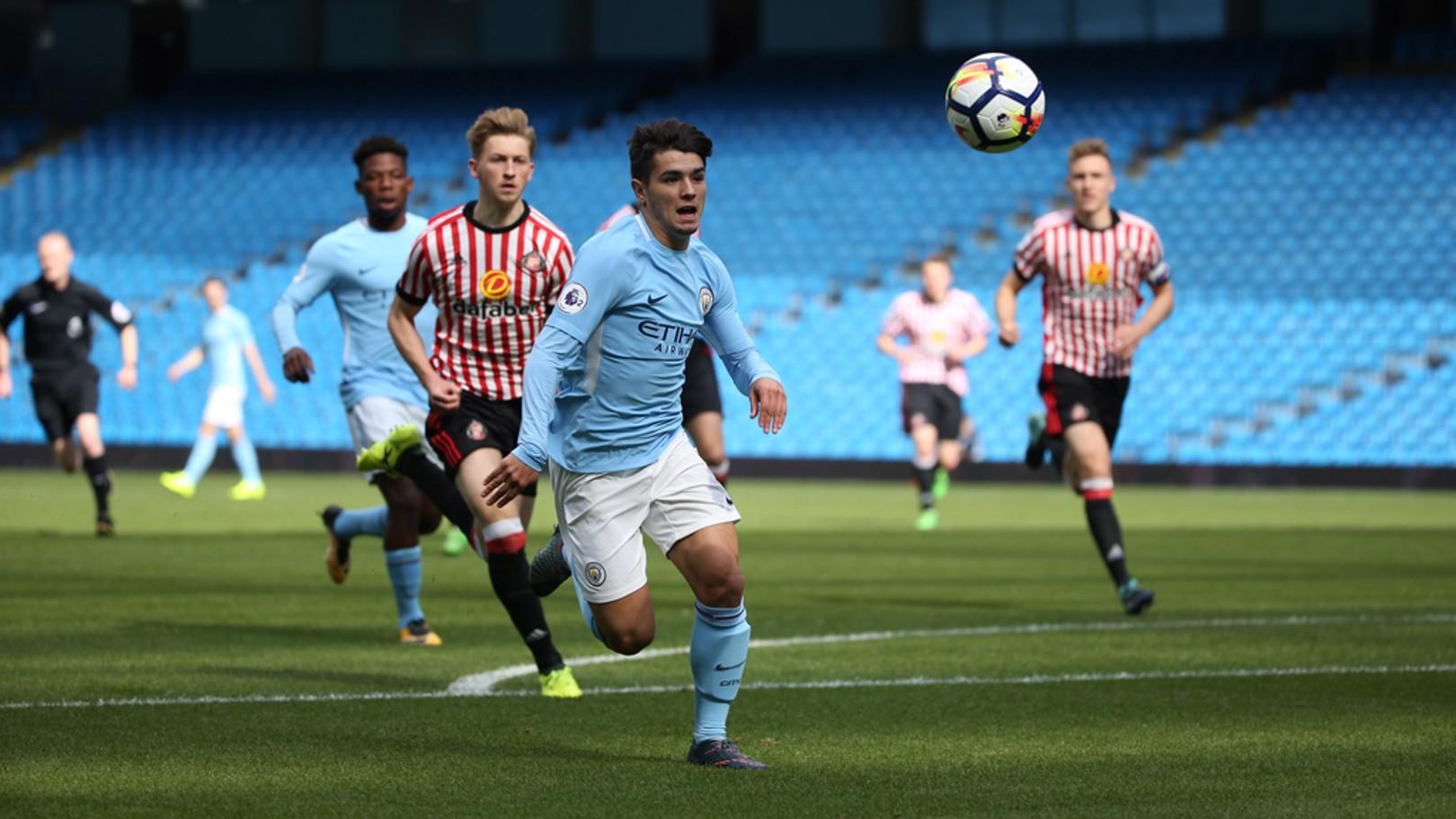 Brahim rescató un punto con dos goles frente al Sunderland.