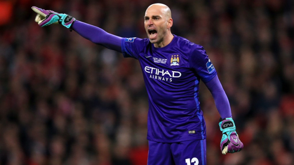 THIS WAY TO GLORY: Willy Caballero