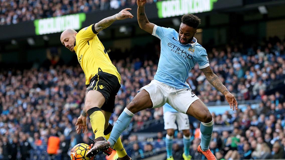 City v Aston Villa: Brief highlights