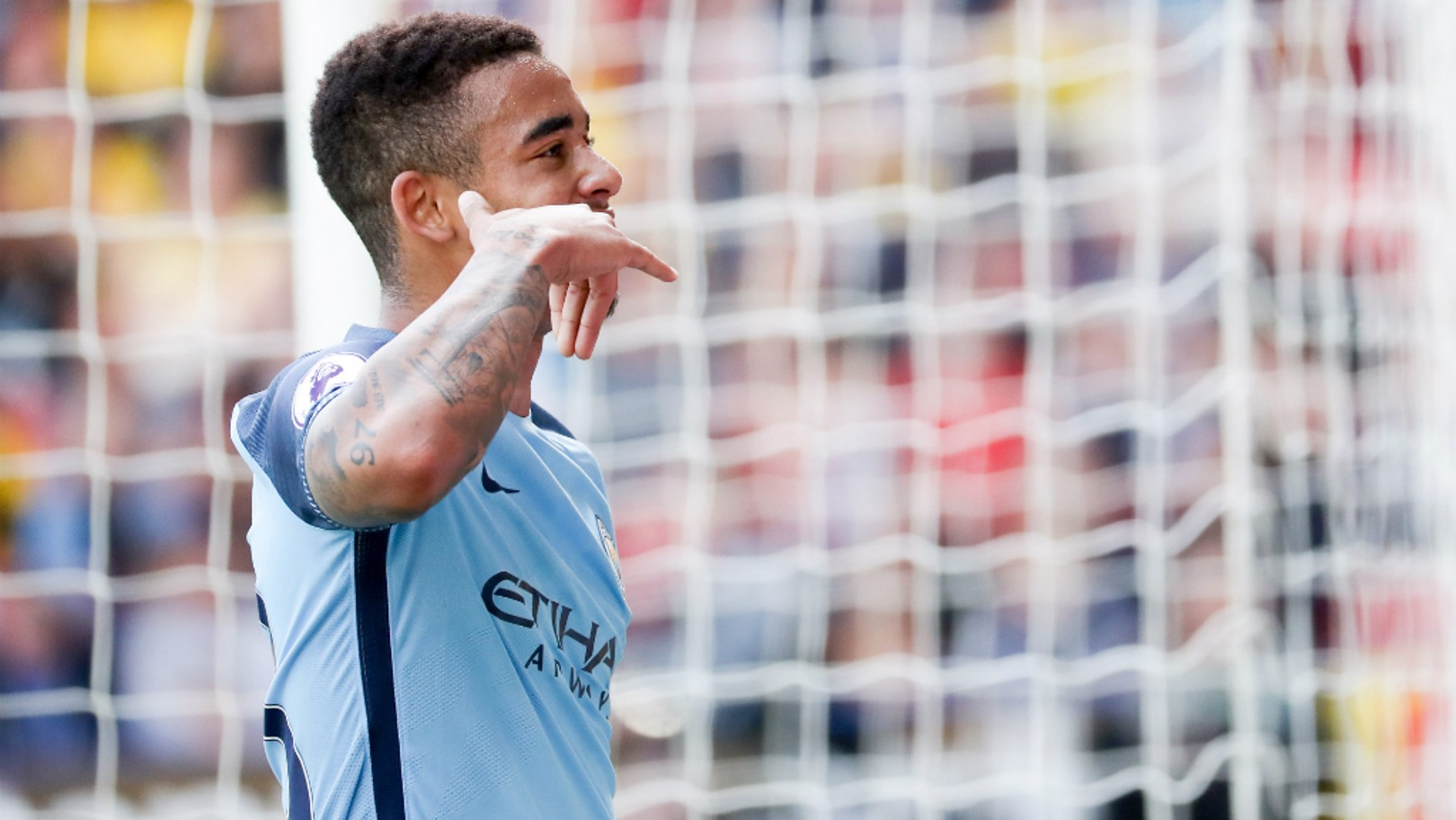 CALL ON ME: Jesus has scored seven goals and four assists in 11 starts.