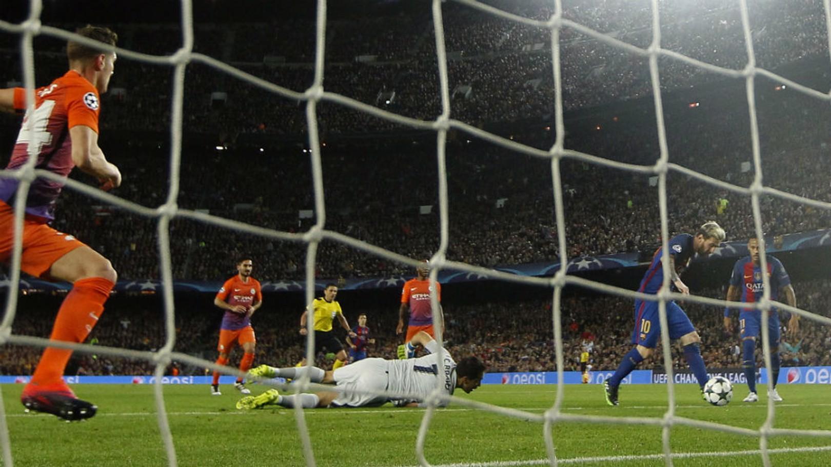 OPENER: Leo Messi puts Barca ahead
