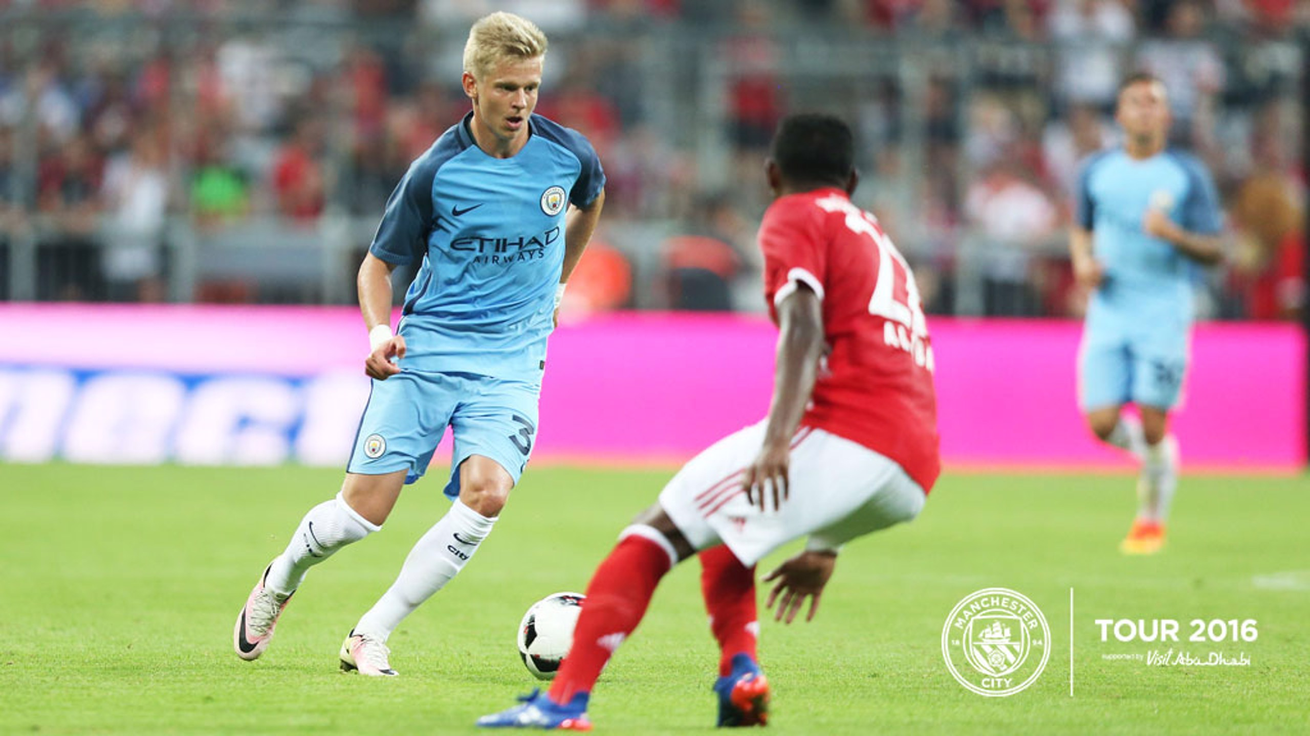 DEBUT: Zinchenko looked neat and tidy on his first City start.