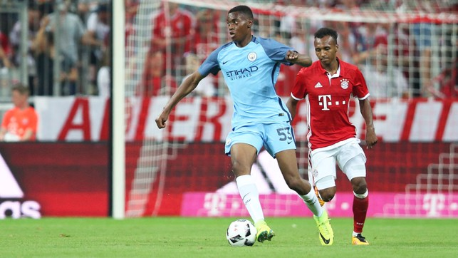TOSIN: Local lad in action in Munich
