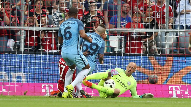 WILLY SAVE IT: Caballero to the rescue!