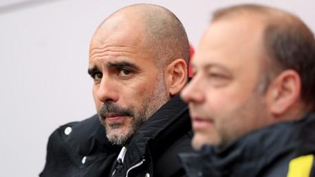 Boro v Man City: Guardiola press conference