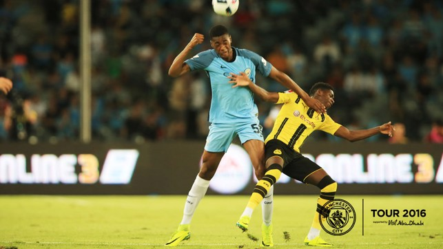 ADARABIOYO: Another solid performance from the young centre back in Shenzhen.