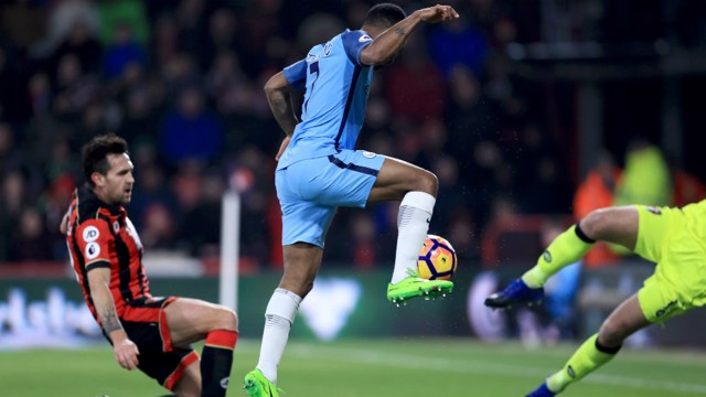 GOAL: Sterling puts City in front