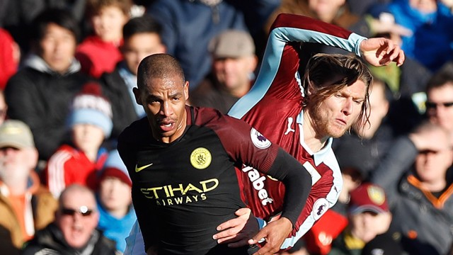 FERNANDO: Midfielder on tough win at Burnley