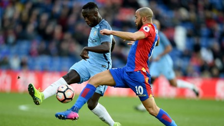BEST FOOT FORWARD: Bacary Sagna and Andros Townsend