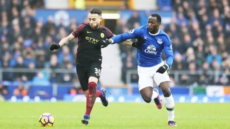Everton v Man City: Brief highlights