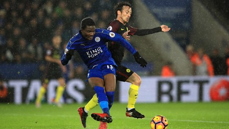 Leicester City v Man City: Brief highlights