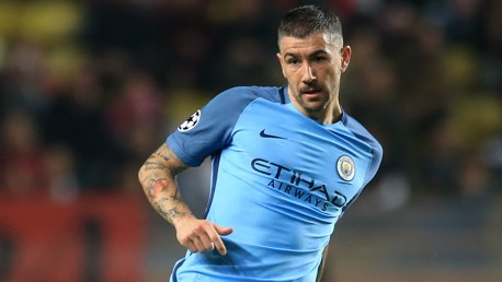 STILL PLENTY TO PLAY FOR: Aleks Kolarov now wants to have the best possible finish in the Premier League and FA Cup.