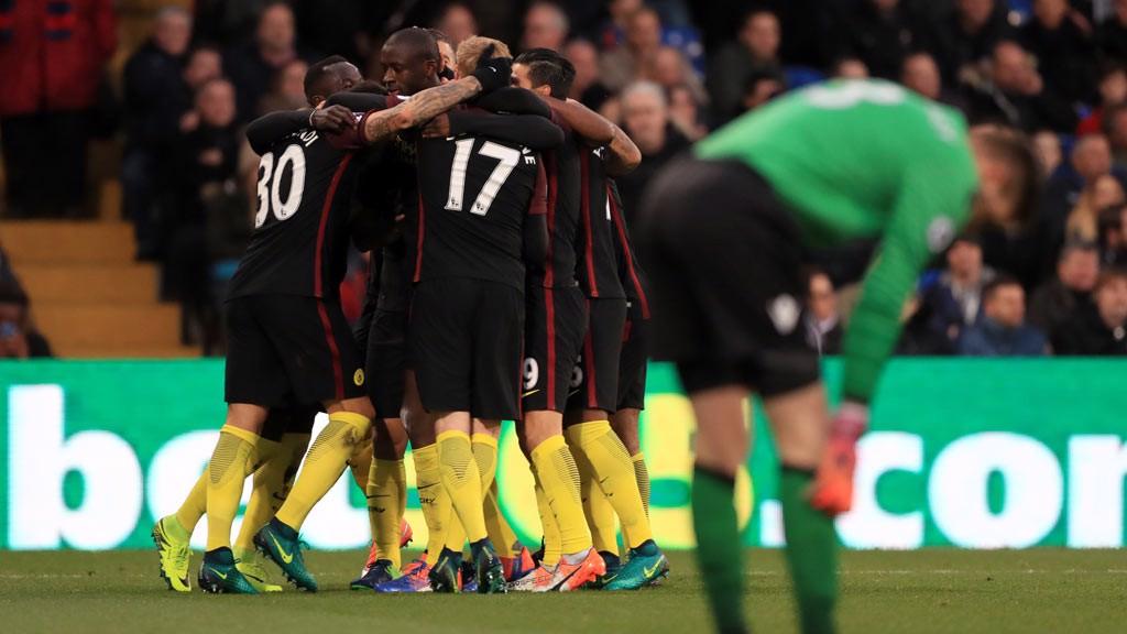 GOAL - Yaya Toure celebrates scoring