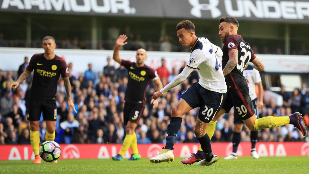 BLOW: Dele Alli puts Spurs two up