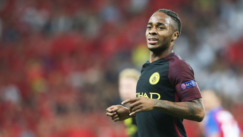 ON FIRE: Raheem was awesome once again