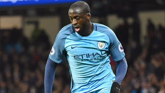 MIDFIELD GENERAL: Yaya Toure was pleased with how City performed at the Stadium of Light.