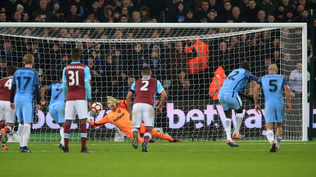 YAYA ON THE SPOT: Toure maintains his 100% record