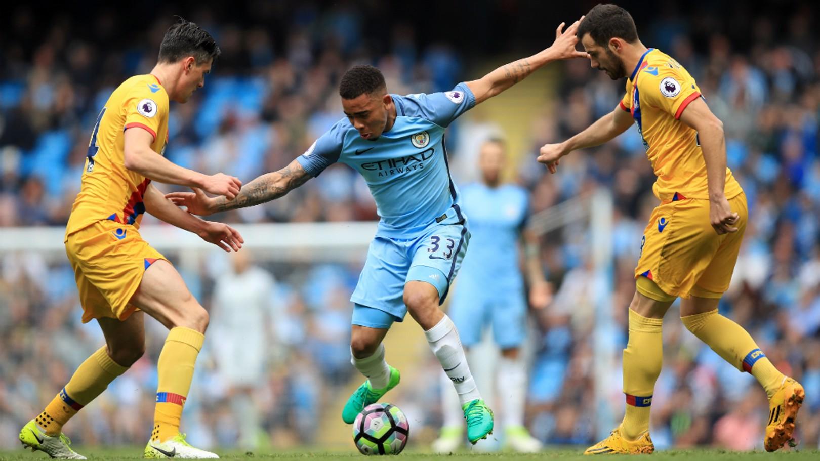 GOALS: Gabriel Jesus scored plenty last season - but which was the best?