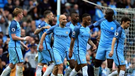 Man City 5-0 Palace: Short highlights
