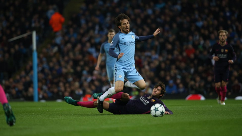 SERGI ON SILVA: It was a physical opening to the match
