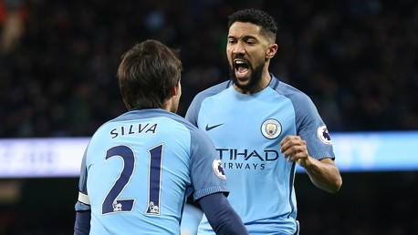Man City v Burnley: Clichy reaction