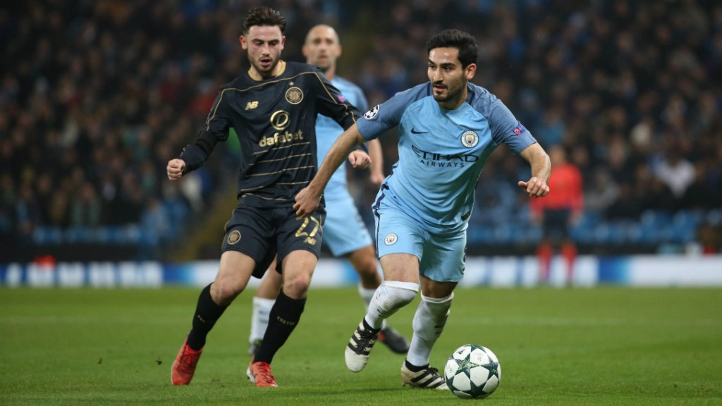 LOOK OUT: Patrick Roberts closes in on Ilkay Gundogan