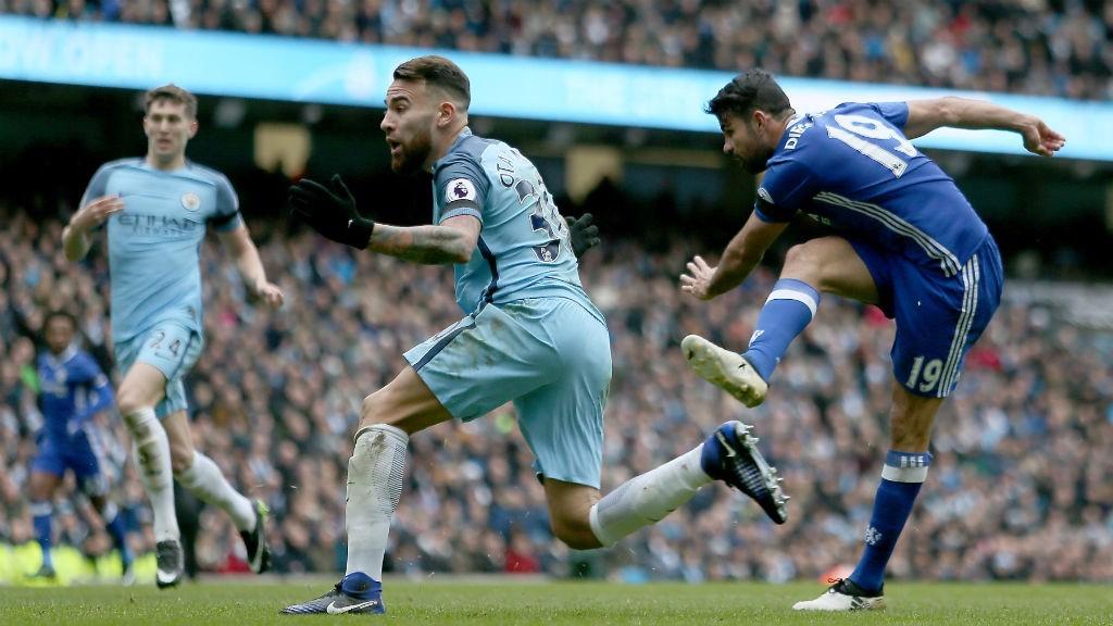 LEVELLER: Diego Costa scores
