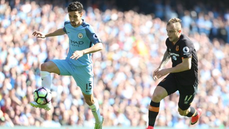 GOODBYE JESUS: Navas will leave City after four successful years at the Club