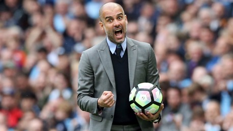 Pep pleased with Leicester display
