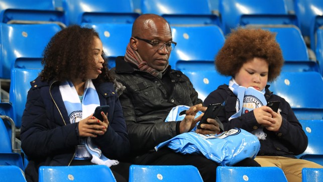 APP: Let's hope they all predicted a City win on the CityMatchDay app