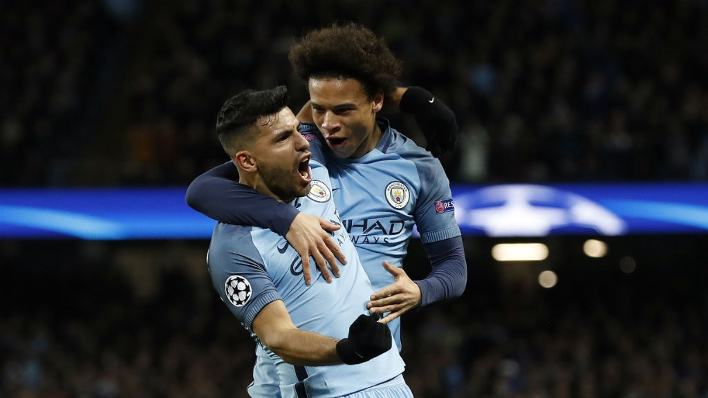 LADS: Two of City's heroes of the night