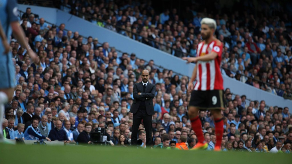 WATCHING BRIEF: Pep Guardiola watches his blueprint begin to take effect
