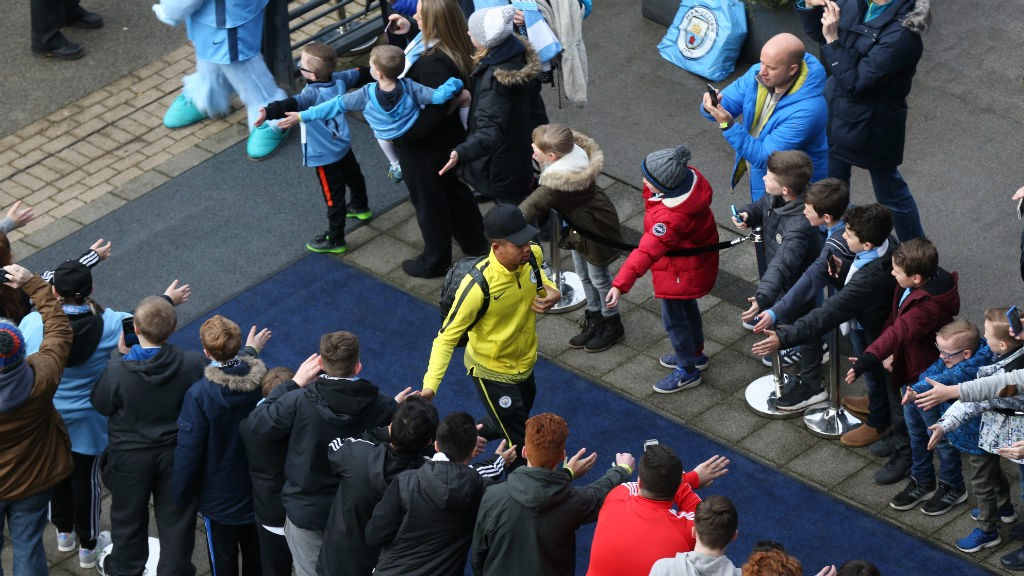 MAN OF THE MOMENT: Gabriel Jesus is in the house