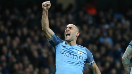 Zabaleta reveals toughest opponents