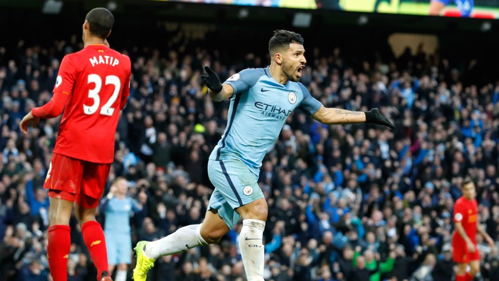 RELIEF: Aguero expresses delight as City draw level