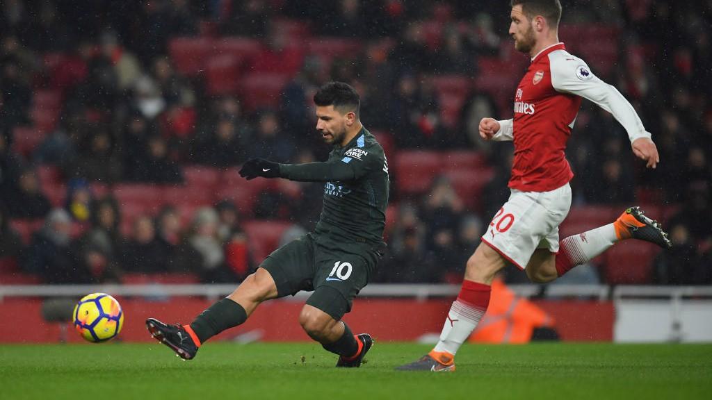 City repete vitória sobre o Arsenal