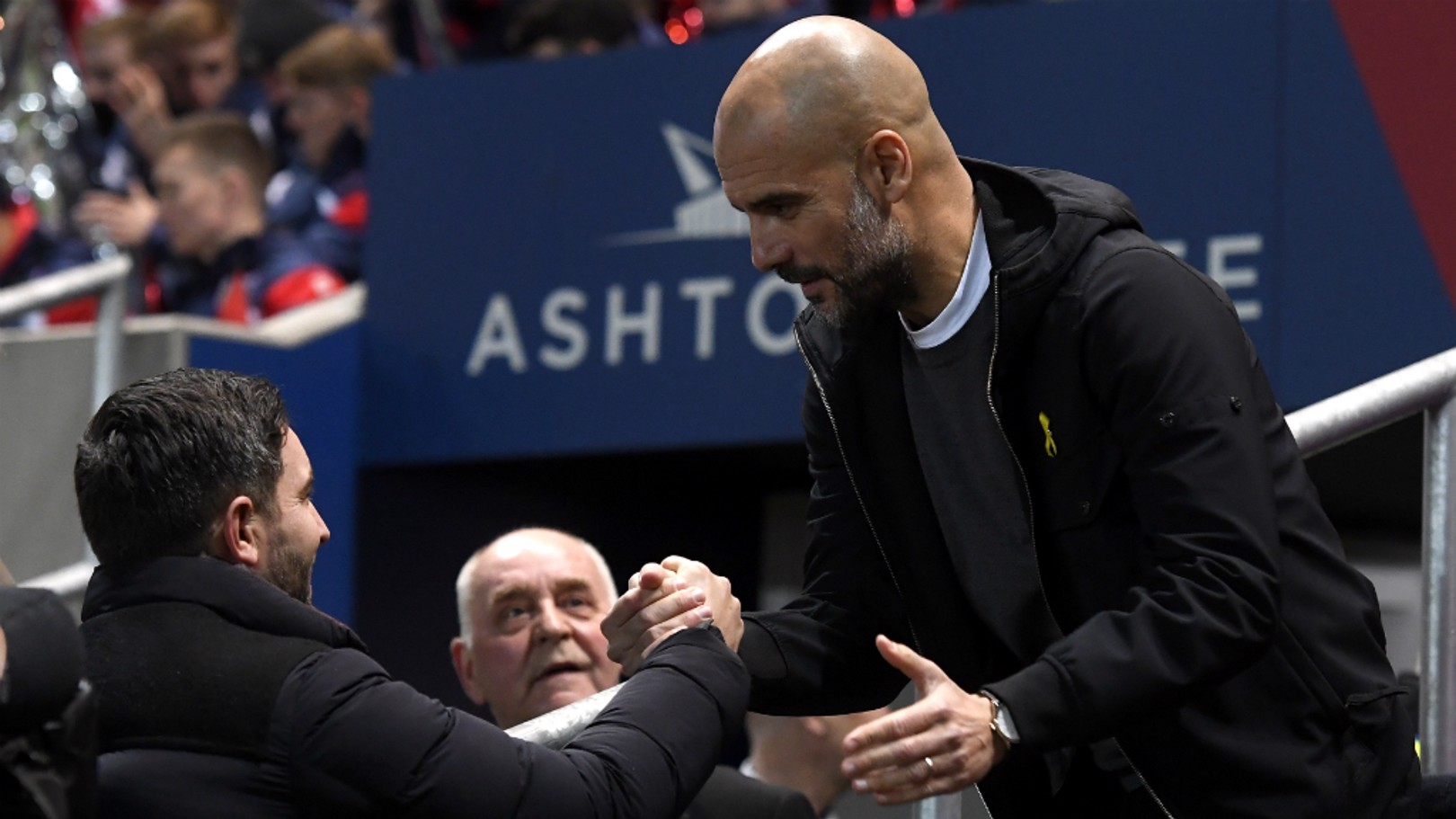 THE BOSS: Pep Guardiola guided City to our first final under his leadership