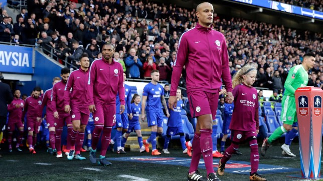 LEADER: Captain Vincent Kompany returns to the side.