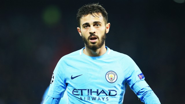 SILVA BULLET: Bernardo Silva made his City Champions League debut against Feyenoord