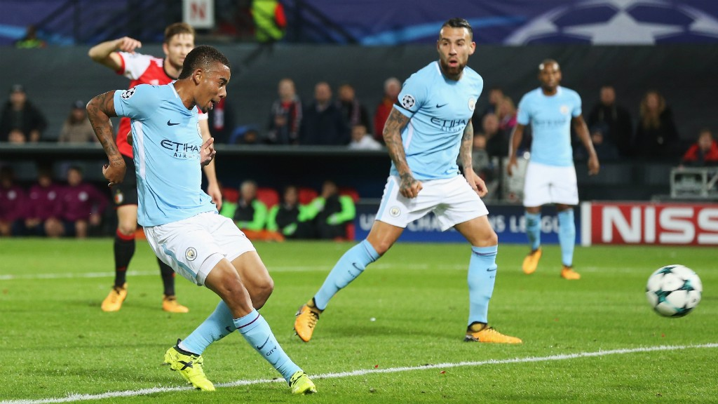 GOLDEN BOY: City's Gabriel Jesus has been nominated for a prestigious award