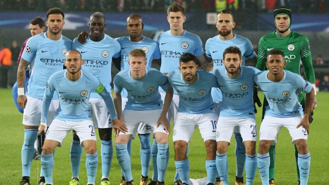 SAY CHEESE: The starting XI
