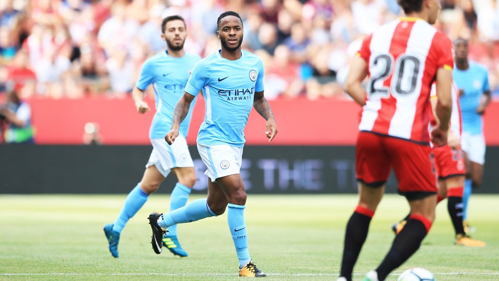 CHANCES: Sterling created a few and had a few chances.