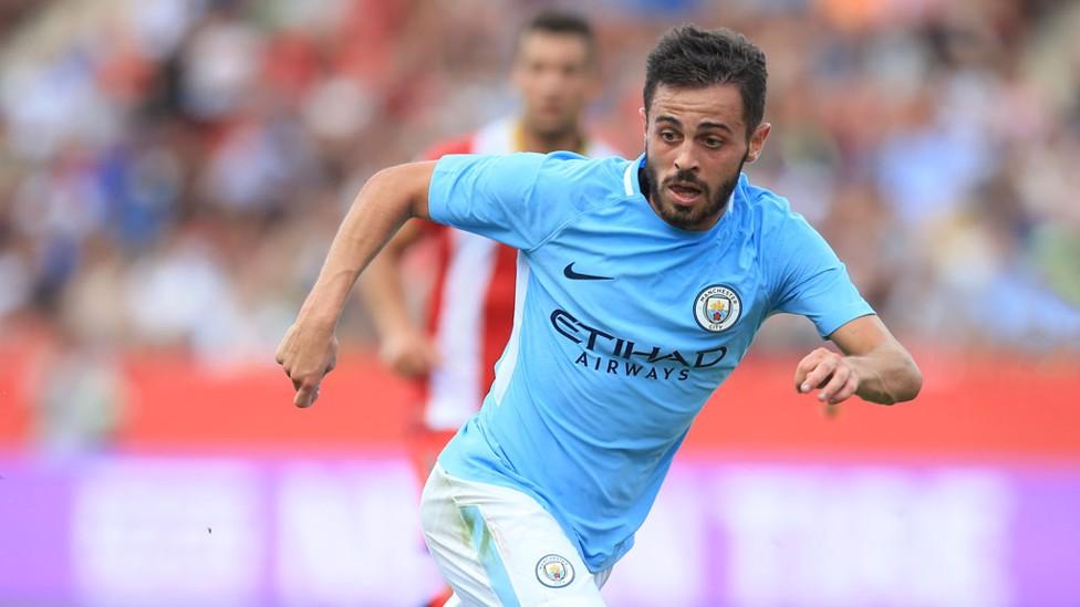 COMPOSURE: Bernardo provided a stellar performance in the midfield.