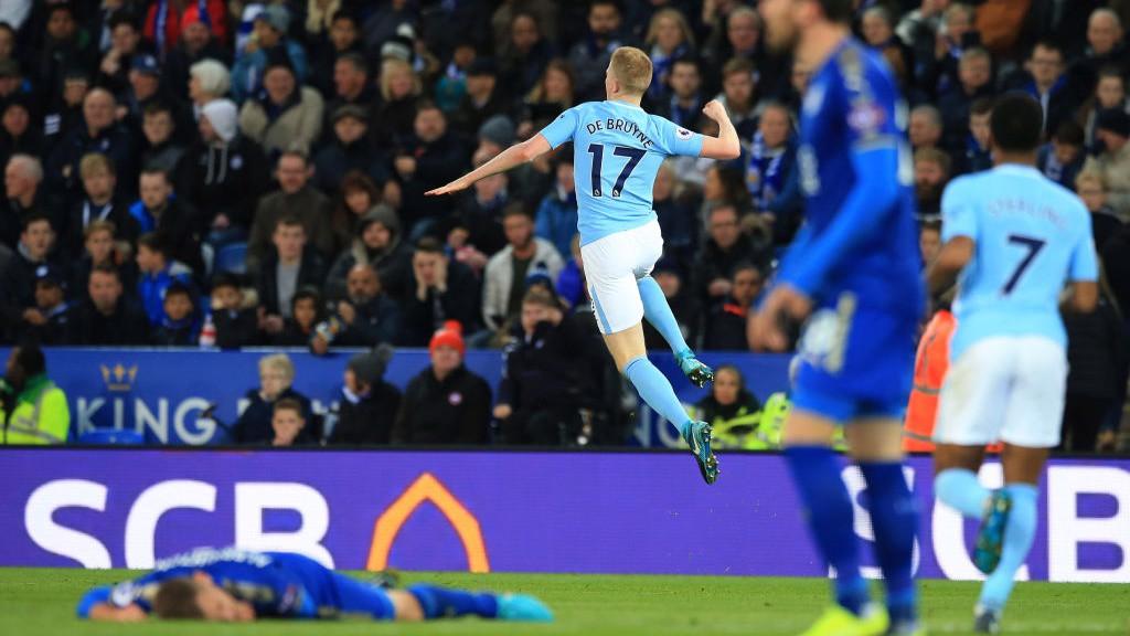 Leicester v Man City: Brief highlights