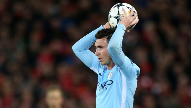 LAPORTE: Our January signing prepares for a throw in.