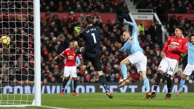 Image result for kompany man united 1-2 man city december 2017