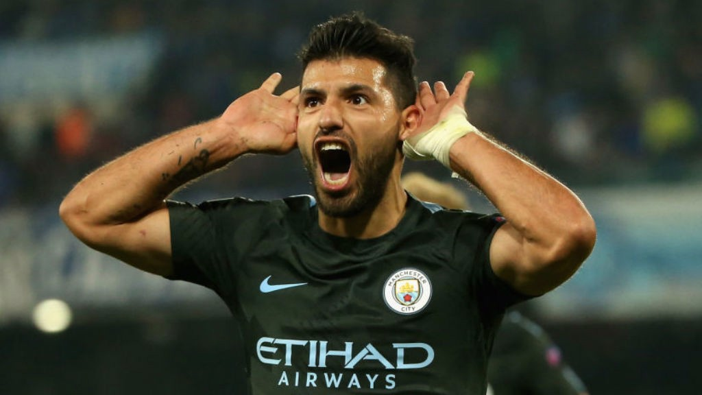 TOUCH OF GENIUS: Sergio starts the celebrations