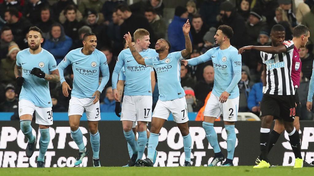 Sterling offre à City sa dix-huitième victoire