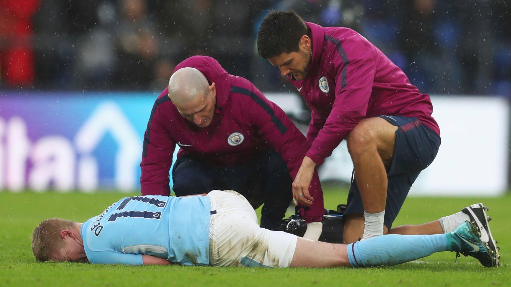 KDB: Injury is a concern for City