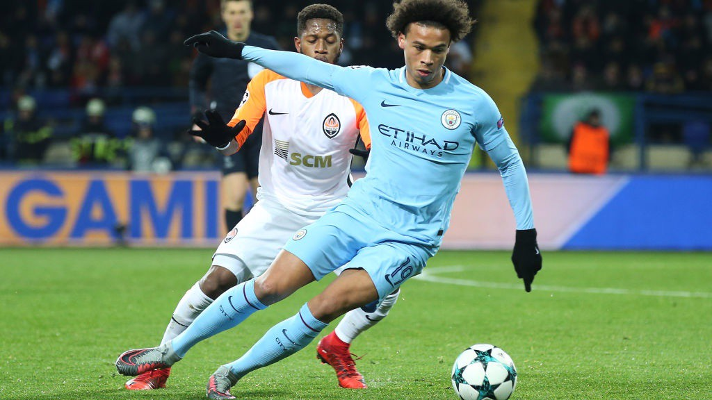 On The Turn Leroy Sane Drops A Shoulder To Beat His Marker